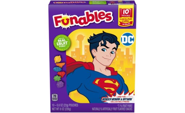 Funables fruit snacks
