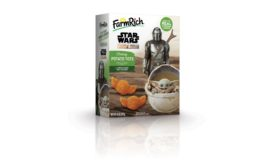 Farm Rich Mandalorian Cheesy Potato Tots for Star Wars Day, Frozen 2 Mac & Cheese Bites