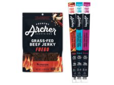 Country Archer Provisions Footlong Meat Sticks and Fuego Jerky