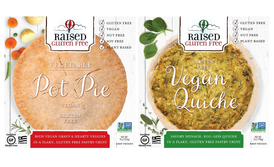 Small-Batch-Made Vegetable Pot Pie and Egg-Less Quiche are Gluten-Free and Vegan