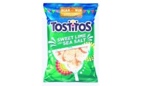 Tostitos new Sweet Lime and Sea Salt variety