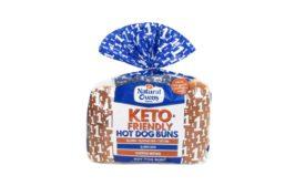 Natural Ovens Keto-friendly 8- and 12-pack hot dog buns