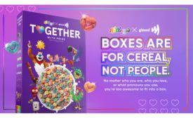 Kellogg Company limited-edition Together with Pride cereal