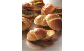 US Foods Non-GMO Artisan Sourdough Baguette and Hilltop Hearth Potato Slider Bun