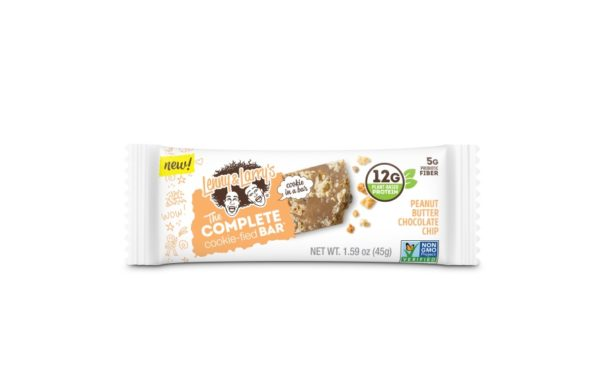 Lenny & Larry Complete Cookie-fied Bar, made with plant protein