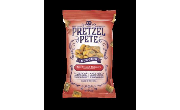 Pretzel Pete launches seasonal summer snack, Sour Cream Habanero Pretzel Nuggets