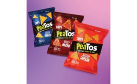 PeaTos launches new crunchy tortilla-style chips