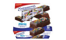 Entenmanns Minis Sprinkled Iced Brownies