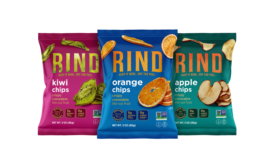 RIND Chips, a single-ingredient fruit chip