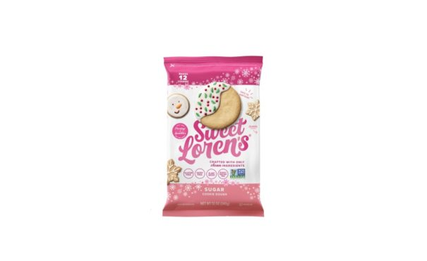Sweet Lorens limited-time cookie dough holiday packaging