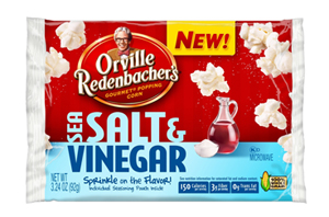 Orville Redenbachers Sea Salt and Vinegar porpcorn