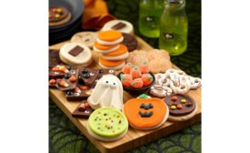 Cheryl's Cookies Halloween Dessert Charcuterie Board and Cut-Out Cookie Decorating Kit,