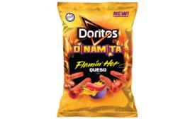 Doritos Dinamita Flamin' Hot Queso Flavored Tortilla Chips