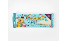 Frankford Candy launches new Fruity PEBBLES Birthday Cake Candy Bar