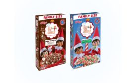 Kellogg's The Elf on the Shelf Hot Cocoa Cereal and Sugar Cookie Cereal