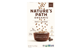 Nature's Path low-carb, keto-certified cereal and granola