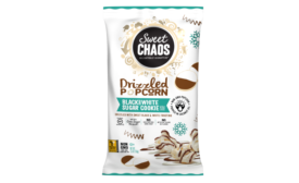 Sweet Chaos Black & White Sugar Cookie Drizzled Popcorn