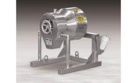 MX-1-SS miniature rotary batch mixer from Munson Machinery Co.