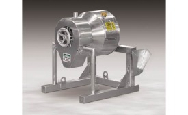 MX-1-SS miniature rotary batch mixer from Munson Machinery Co.