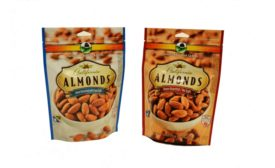 Resealable Select Harvest almond pouch