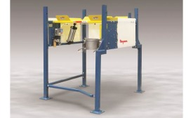Flexicon low-profile bulk bag discharger