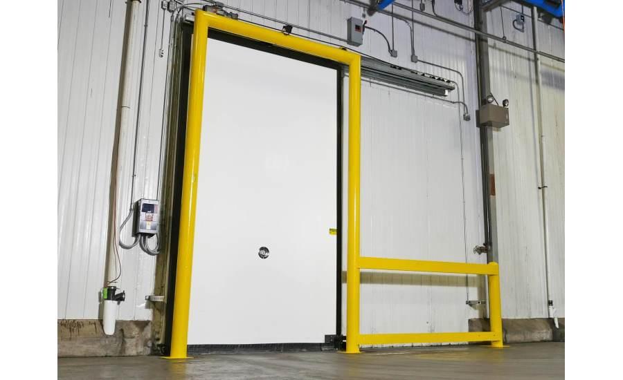 Rytec Turbo-Slide single-slide freezer door