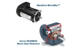 Marathon MicroMax motors and Ironman worm gear reducers