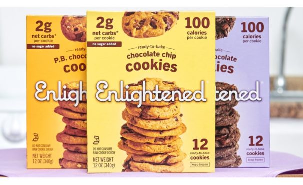 Enlightened announces line of ready-bake cookies with 0g of sugar