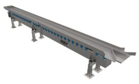 Key Technology Marathon Vibratory Conveyors with monobeam construction