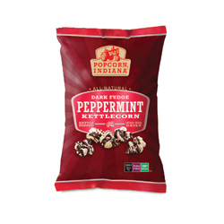 Popcorn, Indiana Dark Fudge Peppermint Kettlecorn