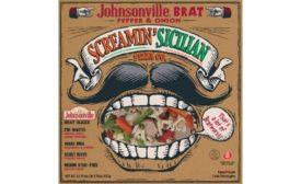 Screamin' Sicilian Johnsonville Brat Wisconsin Pizza