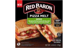 Red Baron Frozen Pizza Melts Schwan's
