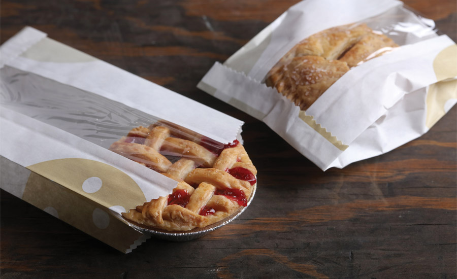 Improving sustainability and performance in snack and bakery packaging materials