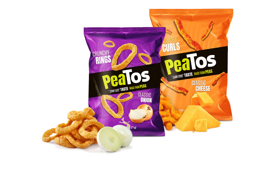 PeaTos brings better-for-you differentiation to classic snack formats