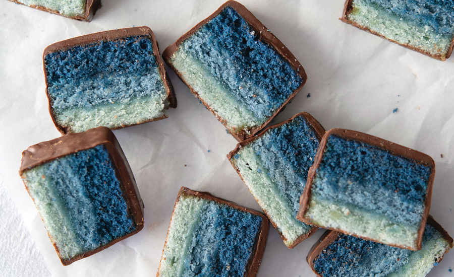 Vibrant colors and bold flavors boost snack and bakery products