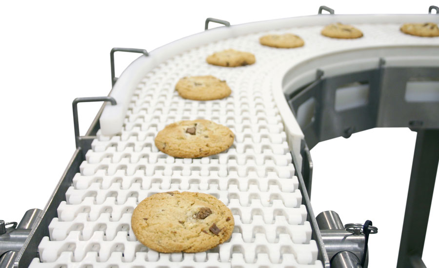 Upgraded belts and conveyors to improve snack and bakery production
