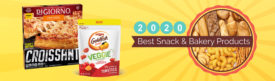 Best New Snack & Bakery Products of 2020: Goldfish Veggie Crackers and DiGIORNO Croissant Crust Pizza