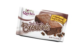 Love and Quiches Brownie