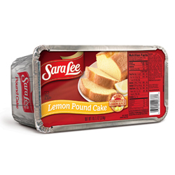 Sara lee Lemon Pound Cake