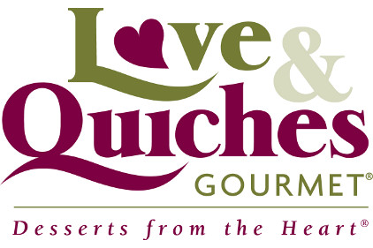 Love & Quiches Gourmet Logo