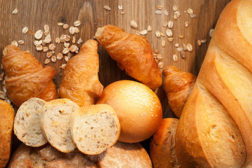 Assortment of breads and rolls