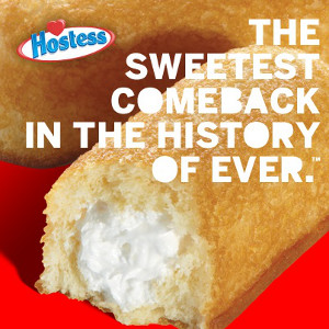 Hostess Brands Comeback Marketing Campaign