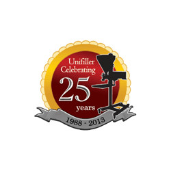 Unifiller Systems Inc. 25th Anniversary Logo