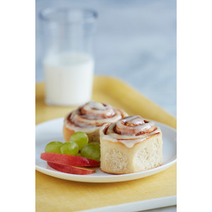 Cinnamon Rolls Made with Ultragrain Flour