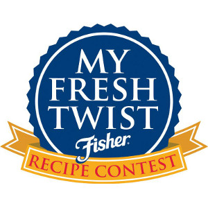 "Fisher Nuts ""My Fresh Twist"" Recipe Contest Logo"