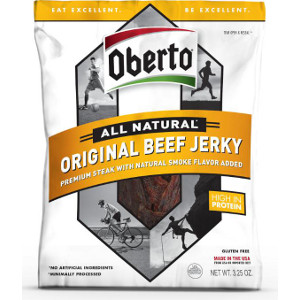 Oberto Brands' New All Natural Jerky Line Packaging