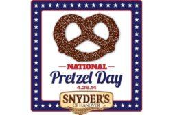 Snyder's of Hanover Pretzel Day Logo