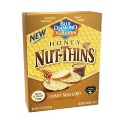 Blue Diamond Almondsâ?? Honey Nut Thins crackers