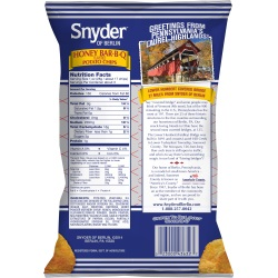 Snyder of Berlin Bar-B-Q Potato Chips