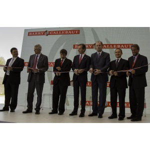 Ribbon-cutting ceremony at Barry Callebaut plant in Chile